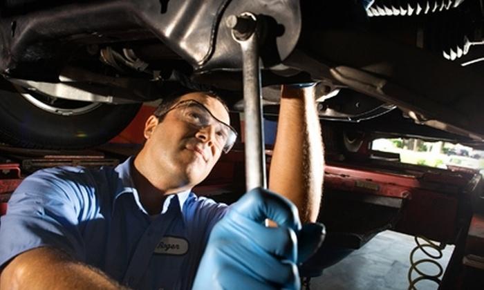 Midas San Angelo - San Angelo: $19 for an Oil Change, Tire Rotation, Courtesy Check, and Brake Check at Midas San Angelo ($53.99 Value)