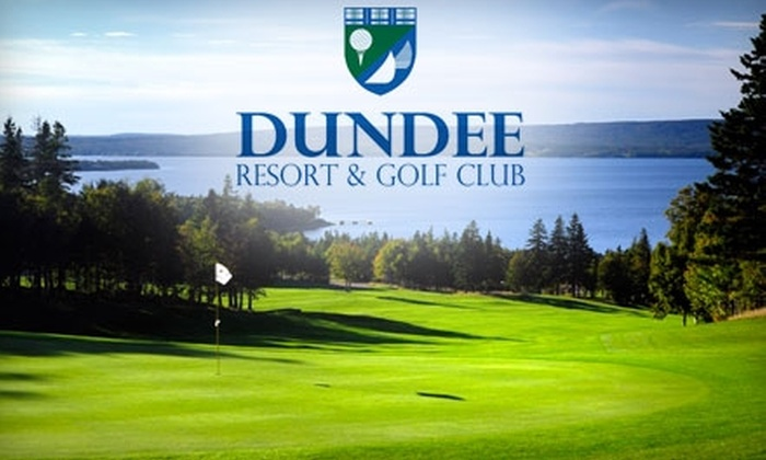 Dundee Resort & Golf Club - West Bay: $99 for One-Night Accommodations and Golf for Two at Dundee Resort & Golf Club ($198 Value)