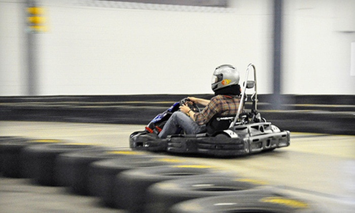 The Pit Indoor Kart Racing - Mooresville: $17 for One Go-Kart Race and a One-Year Membership at The Pit Indoor Kart Racing in Mooresville ($35 Value)