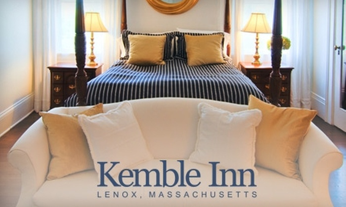 Kemble Inn - Lenox: $175 for One Night Stay and Breakfast for Two at Kemble Inn (Up to $440 Value)