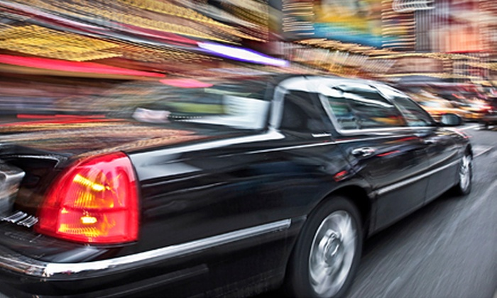 Harris Limousine - Boston: One-Way or Roundtrip Airport Transportation for Up to Three or $50 for $100 Toward Chauffeuring Services from Harris Limousine