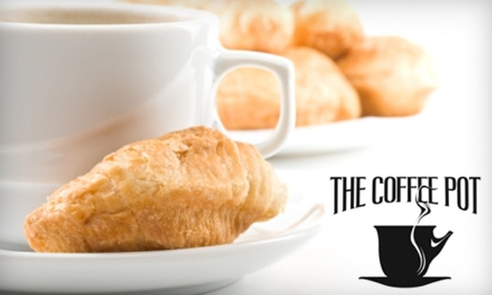 Coffee Pot Bistro - Downtown Association: $5 for $10 Worth of Café Fare and Coffee at Coffee Pot Bistro in San Marcos