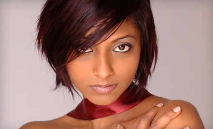Haircut and Salon Blowout (a $45 value) - Finishing Touch Spa & Salon in Boulder