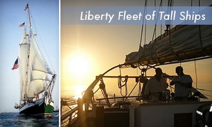 Liberty Fleet of Tall Ships - North End: $15 for a Two-Hour Sail from Liberty Fleet of Tall Ships (Up to $32 Value)
