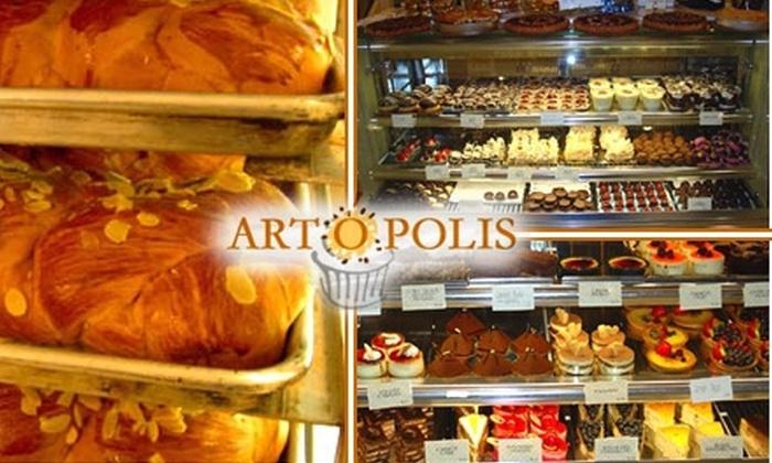 Artopolis - Ditmars Steinway: $7 for $15 Worth of Baklava, Baguettes, Bread, and More at Artopolis