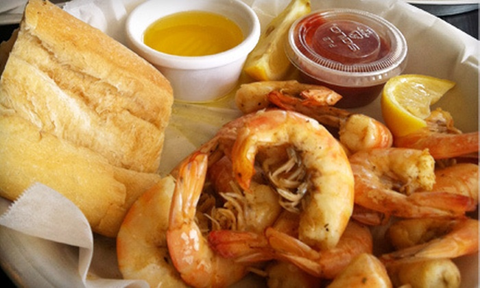 Ugies Smokin' Good Seafood - Palm Harbor: $10 for $20 Worth of Seafood and Drinks at Ugies Smokin' Good Seafood in Palm Harbor