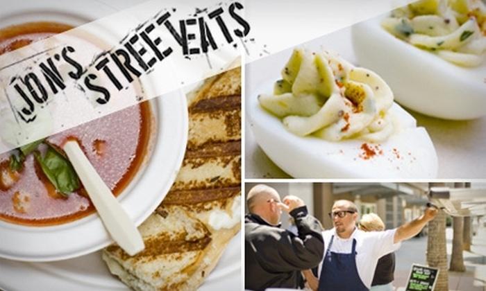 Jon's Street Eats - San Francisco: $5 for $10 Worth of On-the-Go Gourmet at Jon's Street Eats