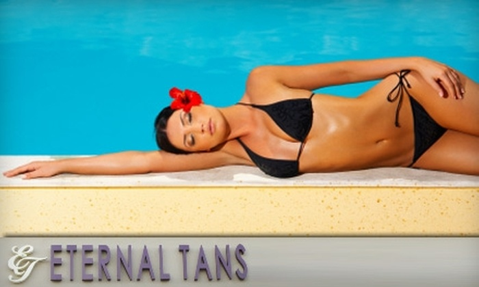 Eternal Tans - Phoenix: $20 for Two Spray Tans or One Month of Unlimited Stand-Up Tanning from Eternal Tans (Up to $84 Value)
