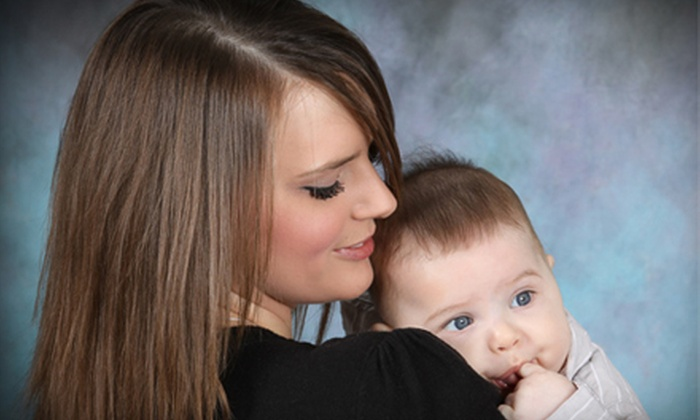 """Worth A 1000 Words Studios - Southwest Topeka: Photo Shoot with 18 Prints or a 10""""x13"""" Three-Picture Collage at Worth A 1000 Words Studio (Up to 62% Off)"""