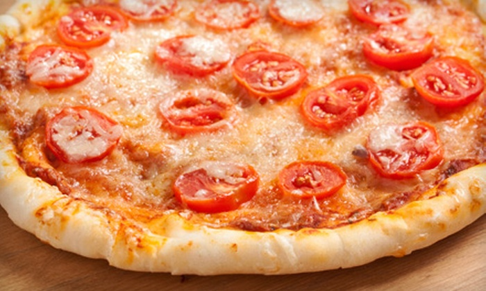 Luigi's Pizza - Halemont: $20 for Dinner for Two with Pizza or Two Entrees, Appetizer, and Two Beverages at Luigi's Pizza in Brooksville (Up to $45.87 Value)