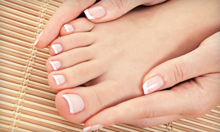 Plush The Salon - Catonsville: Spa or Deluxe Manicure and Pedicure at Salon G (Up to 58% Off)