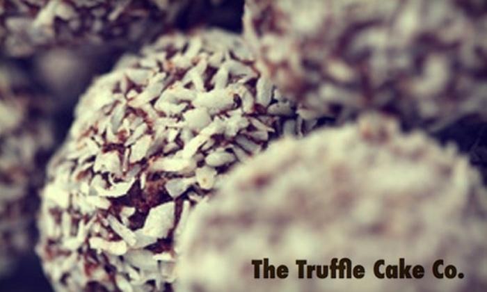 The Truffle Cake Co. - Gainesville: $12 for 12 Red-Velvet-Cake Truffles at The Truffle Cake Co. ($24 Value)