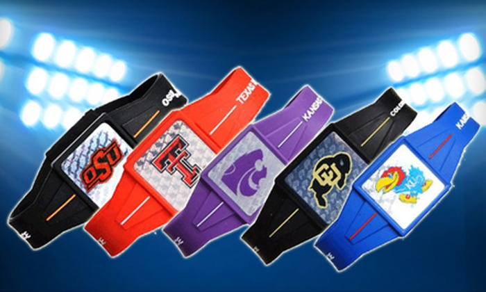 Power Force Apparel: $18 for Ion-Infused Logo Wristband from Power Force Apparel (Up to $37.99 Value)