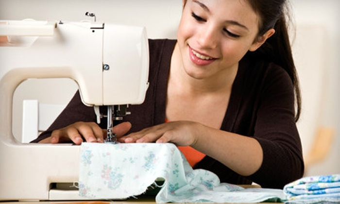 M Avery Designs - Hoboken: Introductory Sewing Class for Adults or Three Kids Afterschool Classes at M Avery Designs in Hoboken (Up to 60% Off)