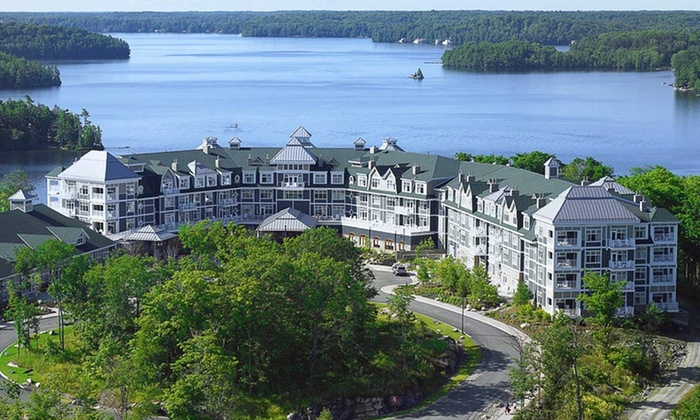 JW Marriott The Rosseau Muskoka Resort & Spa - Minett: One- or Two-Night Stay for Up to Four in a One-Bedroom Suite at JW Marriott The Rosseau Muskoka Resort & Spa in Ontario