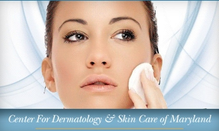 Center for Dermatology & Skin Care of Maryland - Crofton: $60 for Skin Analysis, Plus a Facial Peel or Microdermabrasion Treatment at Center For Dermatology & Skin Care of Maryland ($220 Value)