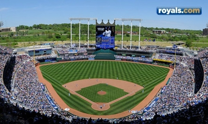 Kansas City Royals - East Side: One Ticket to a Kansas City Royals Game. 10 Games Available.