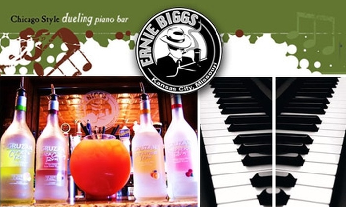 Ernie Biggs Dueling Piano Bar - Old Westport: $10 for $20 Worth of Admission and Beverages at Ernie Biggs Dueling Piano Bar