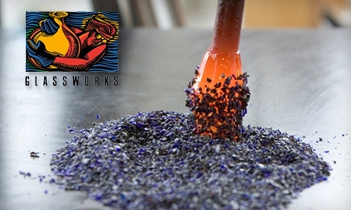 Glassworks - Central Business District: $25 for $50 Worth of Glass-Blowing Events, Walk-In Workshops, Gallery Purchases, and More at Glassworks