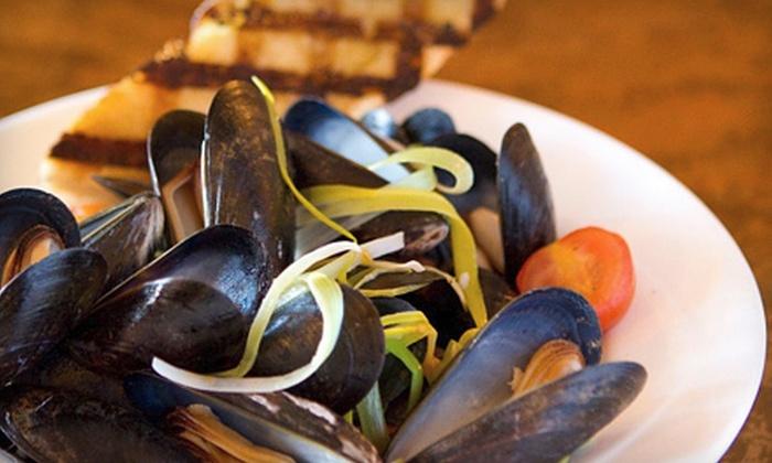 Aglia Ristorante - Bellingham : Five-Course Italian Meal for Two or Four at Aglia Ristorante in Bellingham (Up to 57% Off)