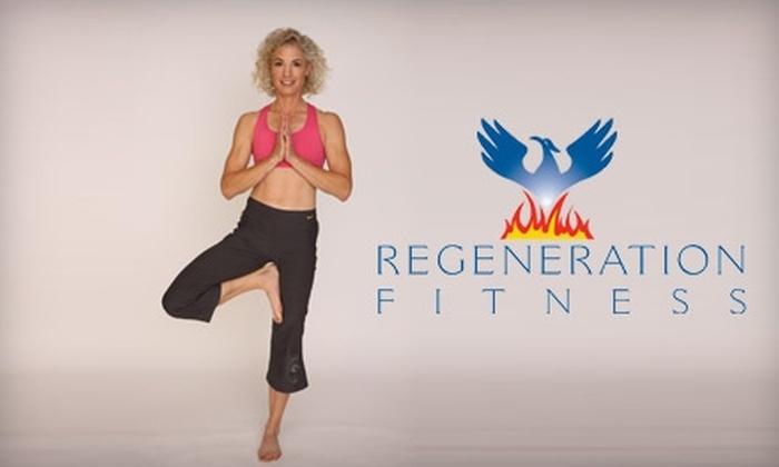 Regeneration Fitness - Little Rock: $30 for 10-Class Pass at Regeneration Fitness ($80 value)