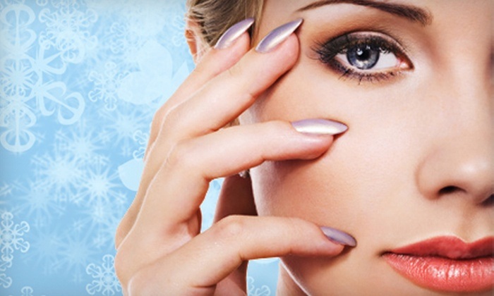 Lezah Medical Aesthetics - Dixie: $99 for a Spa Package with Shellac Manicure and Facial at Lezah Medical Aesthetics in Mississauga ($245 Value)