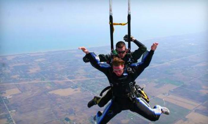 Skydive Midwest - Sturtevant: $125 for a Tandem Jump from Skydive Midwest in Sturtevant (Up to $209 Value)