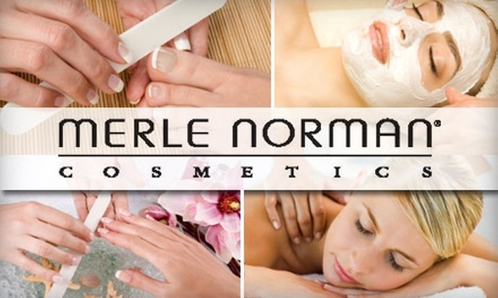 Merle Norman & Day Spa - Concord Mills: $25 for $50 of Spa Services at Merle Norman Cosmetic Studio