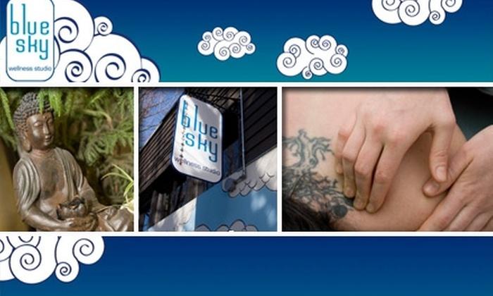 Blue Sky Wellness - Boise: $45 for an Aromatherapy Massage at Blue Sky Wellness Studio
