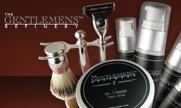 The Gent's Place - Frisco: $25 for $50 Worth of The Gentlemens Refinery Products