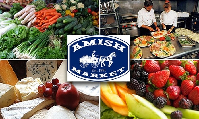Amish Market Tribeca - Tribeca: $35 Worth of Gourmet Groceries at Amish Market Tribeca