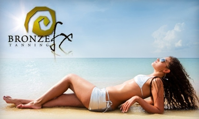 Bronze FX Tanning - Columbus: $20 for 30 Days of Unlimited Tanning or Three Mystic Tans at Bronze FX Tanning in Dublin (Up to $69 Value)