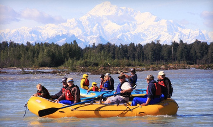 Denali Southside River Guides - Anchorage: Full-Day Rafting-and-Kayaking Adventure for One or Two from Denali Southside River Guides (Up to 51% Off)