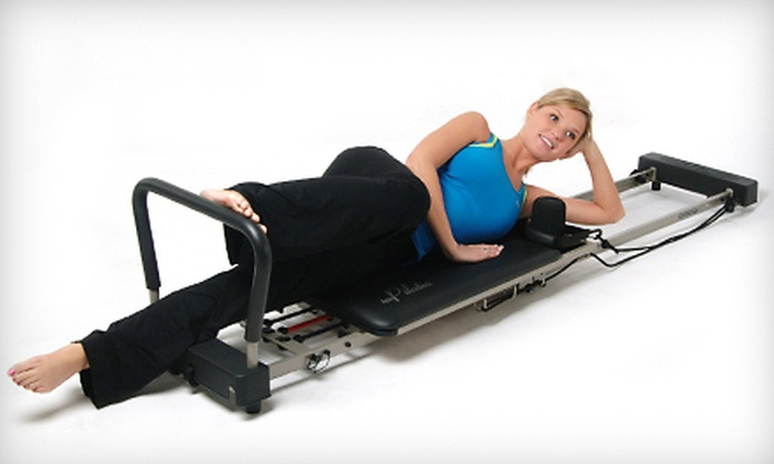 AeroPilates Reformer: AeroPilates Premier 298 Reformer or AeroPilates Pro XP 556 Reformer from Stamina Products (Up to 63% Off). Valid in the Contiguous U.S. Only.