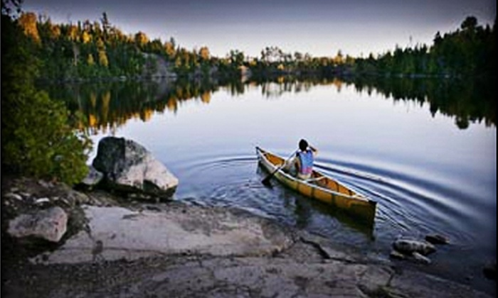 Voyageur Canoe Outfitters - Grand Marais: $159 for a Fully Equipped Three-Day Standard Expedition Canoe Trip at the Boundary Waters Canoe Area from Voyageur Canoe Outfitters (Up to $318 Value)