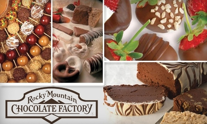 Rocky Mountain Chocolate Factory - Multiple Locations: $5 for $10 Worth of Store-Made Candies and Confections at Rocky Mountain Chocolate Factory