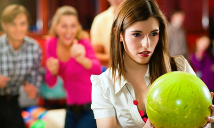 Surf Bowl - San Diego: $55 for a Two-Hour Bowling Outing for Four with Shoe Rentals, Pizza, and Soda at Surf Bowl in Oceanside ($134 Value)