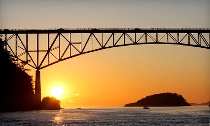 Deception Pass Tours - North Whidbey: $12 for a Deception Pass Jet-Boat Tour from Deception Pass Tours