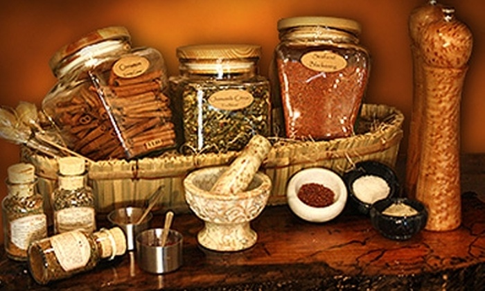 The Spice & Tea Exchange - Multiple Locations: $7 for $15 Worth of Spices, Salts, Teas, and More at The Spice & Tea Exchange. Valid at Three Locations.