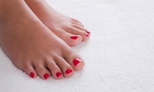Elegance Kosmetikstudio: Pediküre inkl. Parrafinbad, opt. mit Fußpeeling, im Elegance Kosmetikstudio ( bis zu 51% sparen*)