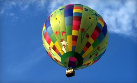Signature Souvenir Hot Air Balloon Flight for 2 (a $558 value) - Air Ventures in Glenmoore