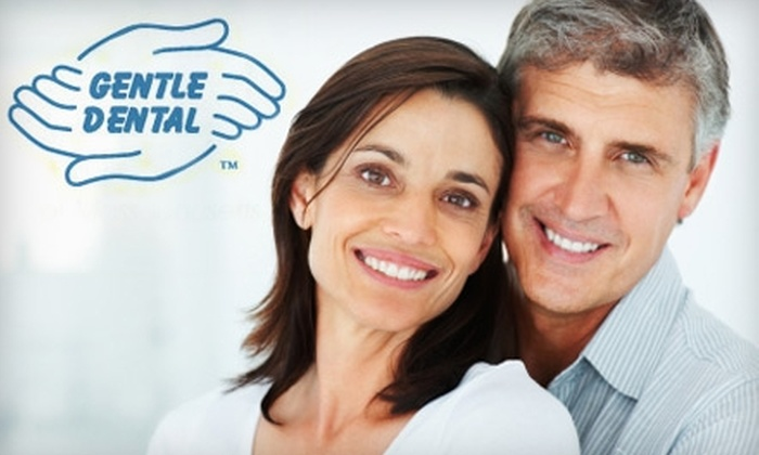 Gentle Dental - Multiple Locations: $28 for X-Ray, Exam, and Cleaning at Gentle Dental ($57 Value). Choose from 26 Locations.