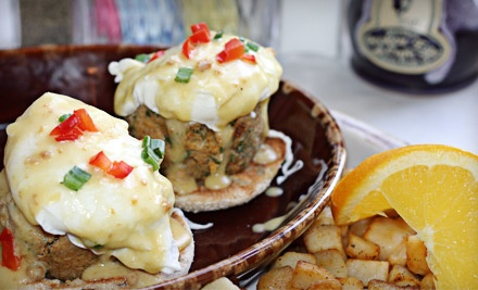 Southern Brunch for 2: Any 2 Brunch Specials, Benedicts, Omelets, or Scramblers - The Broken Egg in Mandeville