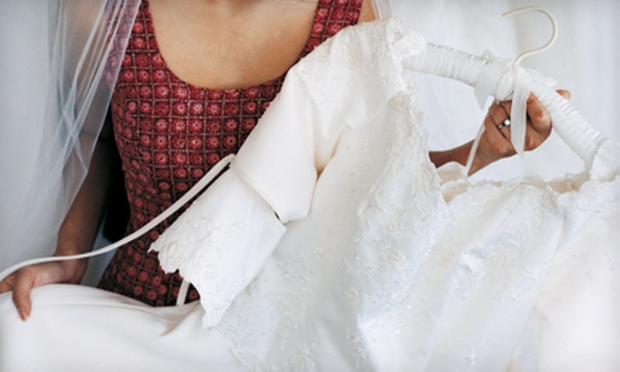 Slate NYC - Downtown,Soho,West Village: $299 for Wedding-Gown Cleaning and Preservation from Slate NYC ($861 Value)