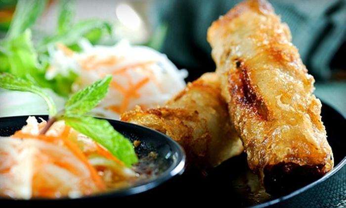 Soo Raa Thai-American Chic Restaurant - Valley Village: $10 for $20 Worth of Thai Food, American Fare, and Drinks at Soo Raa Thai-American Chic Restaurant in Toluca Lake