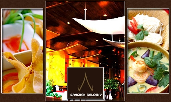 Bangkok Balcony - Squirrel Hill South: $25 for $60 Worth of Authentic Thai Cuisine and Drinks at Bangkok Balcony