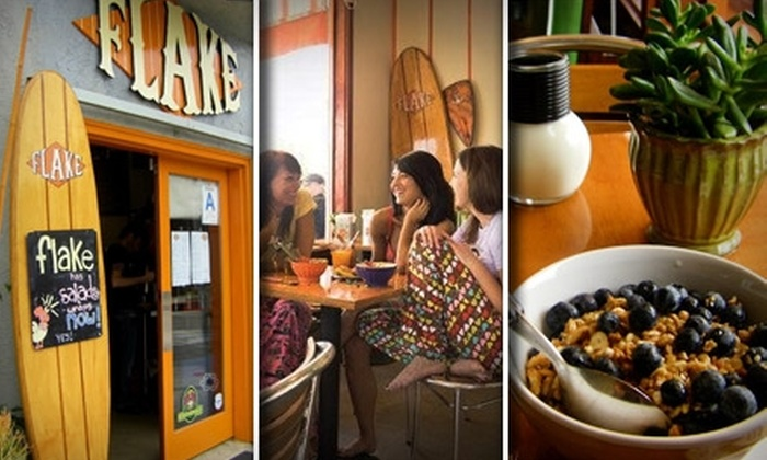 Flake - Venice: $7 for $15 Worth of Breakfast, Lunch, and Drinks at Flake