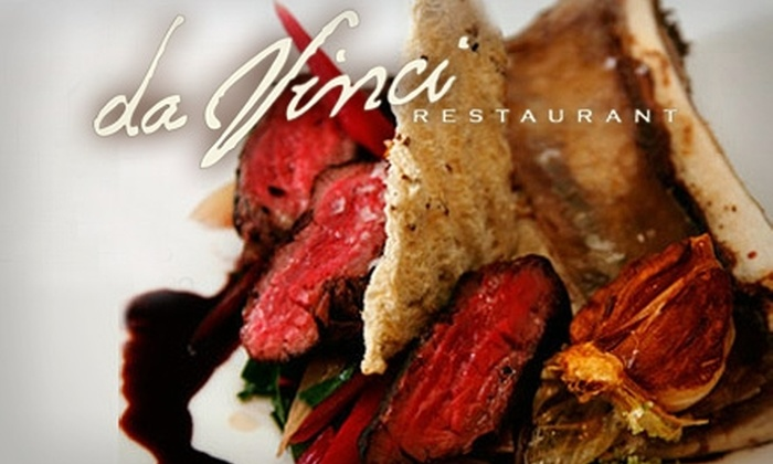Da Vinci Restaurant - Beverly Hills: Half Off Upscale Italian-Mediterranean Cuisine, Drinks, and More at Da Vinci Restaurant. Choose from Lunch or Dinner Option.