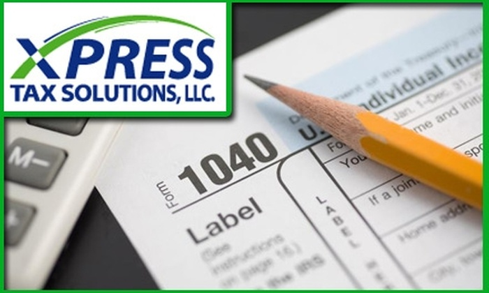 Xpress Tax Solutions - Garden Alameda: $50 for $150 Worth of Tax Services at Xpress Tax Solutions