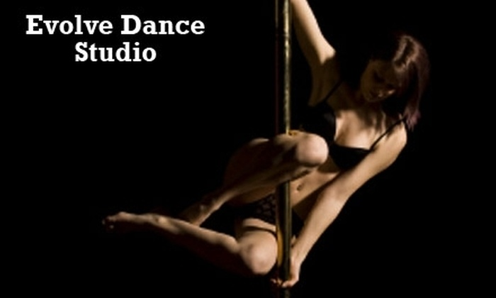 Evolve Dance Studio - Mid-Wilshire: $35 for Two Pole-Dancing Classes and Three Dance Classes at Evolve Dance Studio (Up to $95 Value)